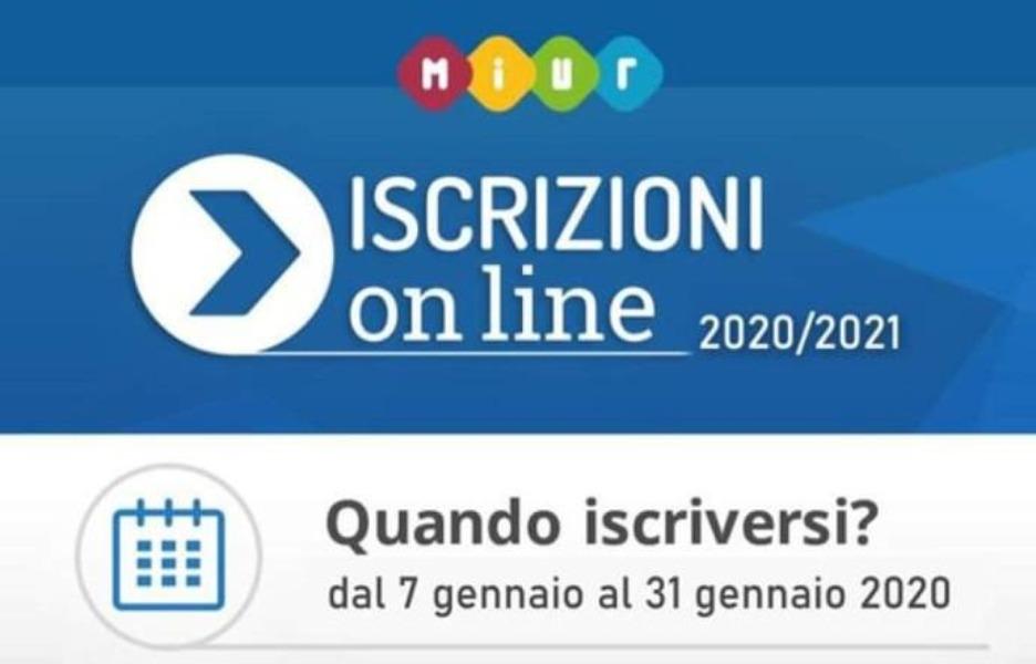 ISCRIZIONI A.S. 2020/21 CLASSI PRIME