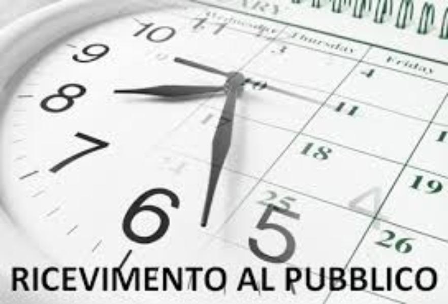 UFFICI DI SEGRETERIA - APERTURA AL PUBBLICO