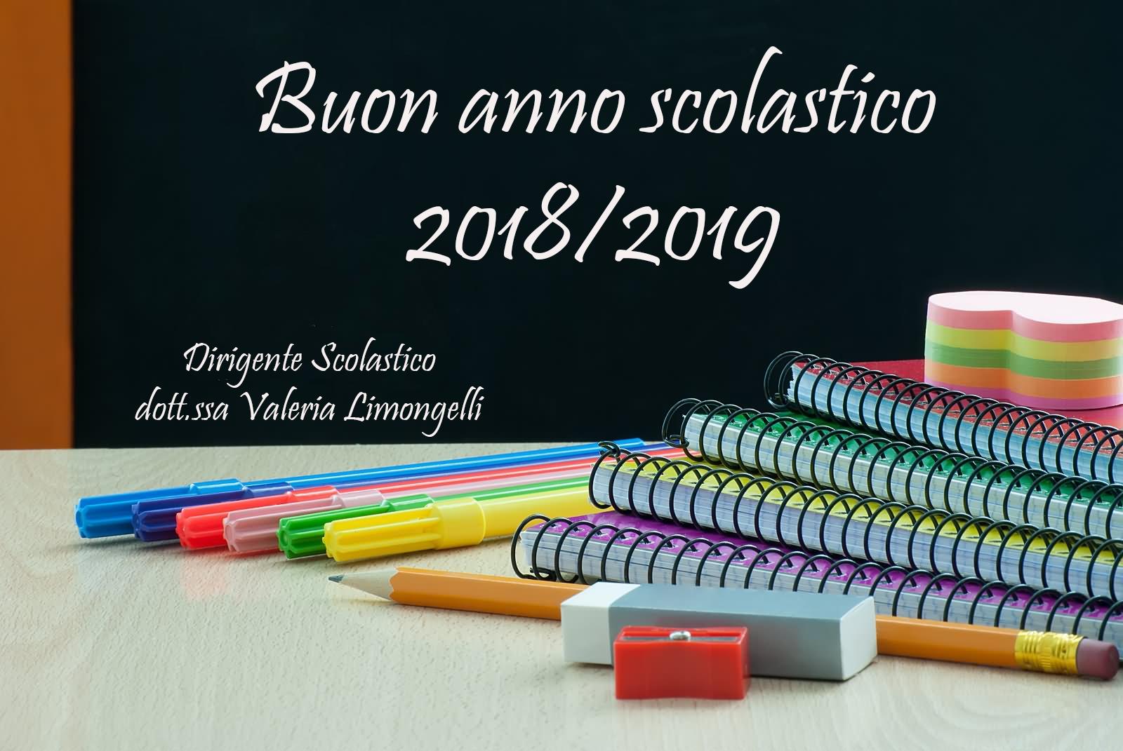 Augurio di buon anno scolastico del Dirigente Scolastico al personale, agli alunni e alle famiglie