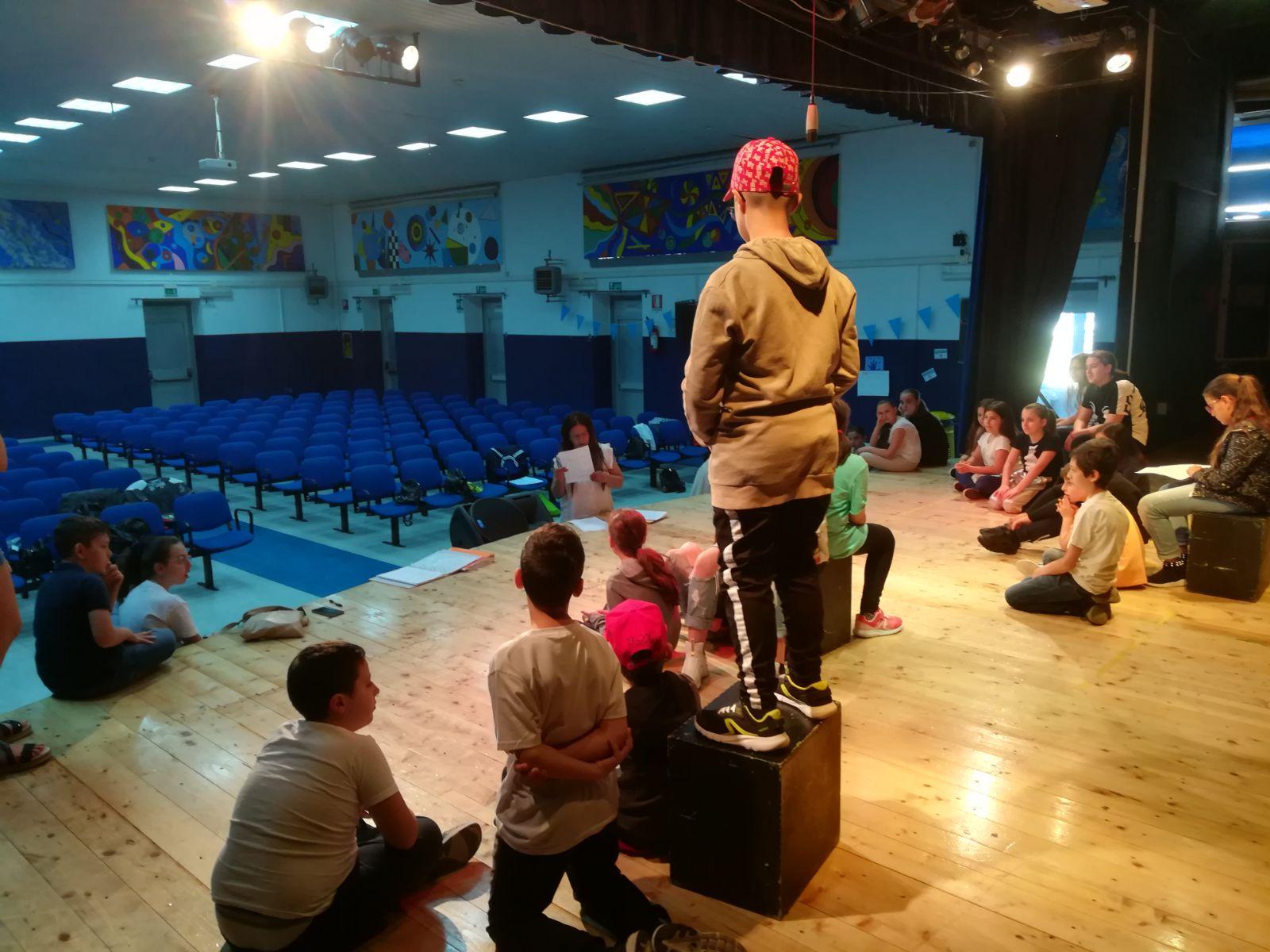 Teatro a scuola PON 2017/2018