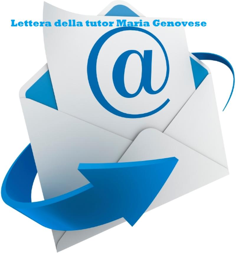 Lettera di riflessione della tutor Maria Genovese