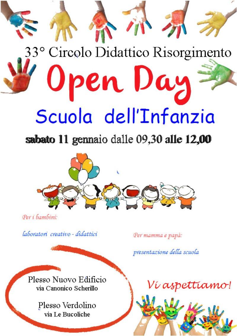 Open Day Scuola del'Infanzia