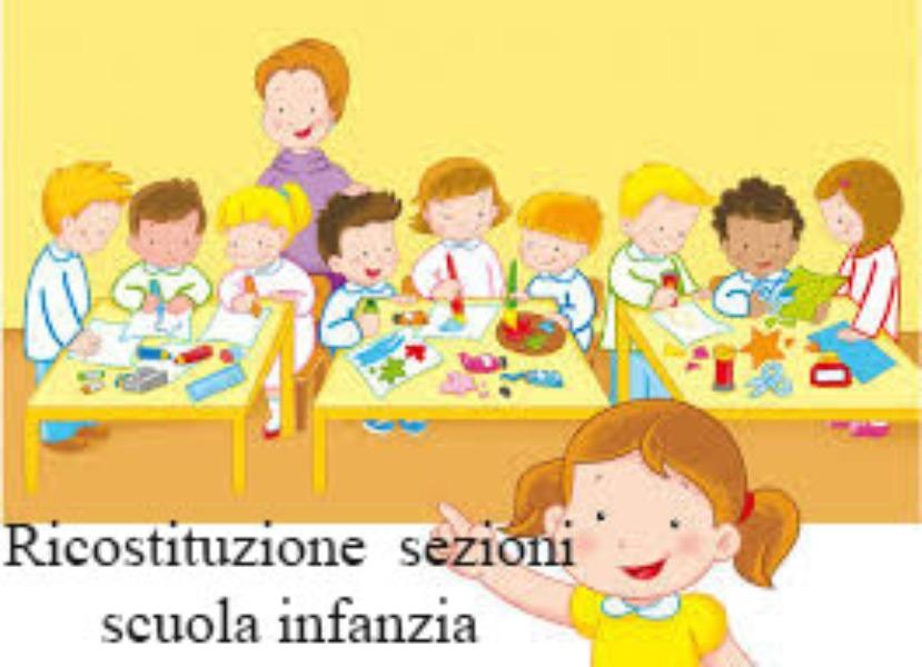 RIUNIFICAZIONE SEZIONI INFANZIA PLESSO NUOVO ED...
